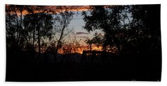 Hand Towel featuring the photograph Spectacular Sky by Anne Rodkin