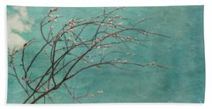 Spring Blues Hand Towel
