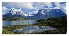 Springtime In Patagonia Hand Towel