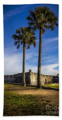 St. Augustine Fort Bath Towel