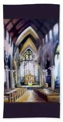 St Johns Cathedral Limerick Ireland Hand Towel