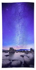 Star Gazer  Bath Towel