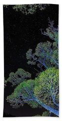 Stars Out Tonight Hand Towel by Nancy Marie Ricketts