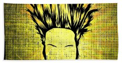 Static-x Hand Towel by Kyle West