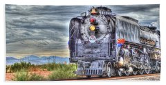 Steam Train No 844 Bath Towel