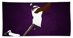 Stefon Diggs Hand Towel by Kyle West