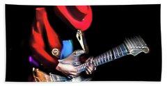 Stevie Ray Vaughan - Texas Flood Hand Towel