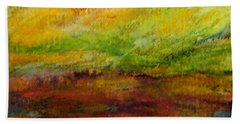 Storm At Sunrise Hand Towel