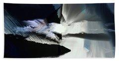 Storm Bath Towel by Elaine Hunter