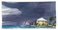 Storm Over Key West Bath Towel