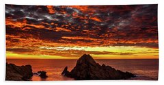 Sugarloaf Sunset Bath Towel