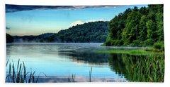 Summer Morning On The Lake Bath Towel