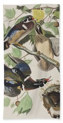 Summer Or Wood Duck Bath Towel