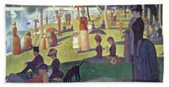 Sunday Afternoon On The Island Of La Grande Jatte Bath Towel