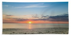 Sundown Hand Towel by Christopher L Thomley