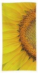 Sunflower Petals Hand Towel
