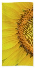 Sunflower Petals Bath Towel