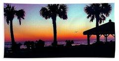 Sunrise On Ormond Beach Hand Towel