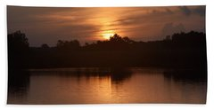 Sunrise On The Bayou Hand Towel