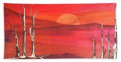 Sunrise Bath Towel by Pat Purdy