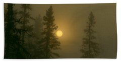 Sunrise Through The Fog 2 Hand Towel