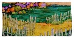 Sunset Beach Hand Towel