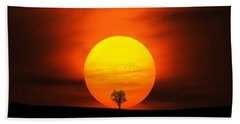 Sunset Hand Towel by Bess Hamiti