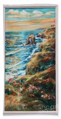 Sunset Cliffs Hand Towel