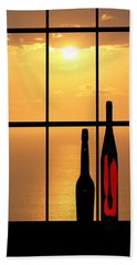 Bath Towel featuring the photograph Sunset In Hawaii by Athala Carole Bruckner
