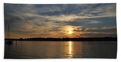 Sunset On The Bayou Hand Towel