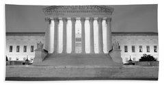 Supreme Court Building Illuminated Hand Towel
