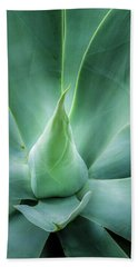 Swan's Neck Agave 2 Bath Towel by Leigh Anne Meeks