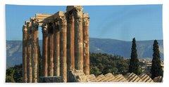 Temple Of Zeus Hand Towel