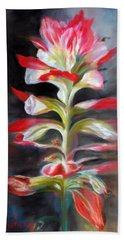 Texas Indian Paintbrush Hand Towel