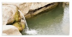 Hand Towel featuring the photograph Texas - Mckinney Falls State Park  by Ray Shrewsberry
