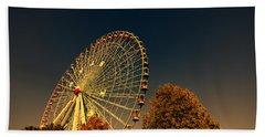 Texas Star Ferris Wheel Bath Towel