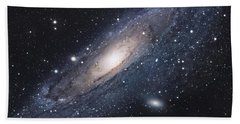 The Andromeda Galaxy Bath Towel