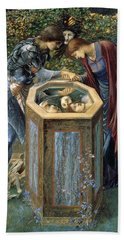 The Baleful Head Hand Towel by Edward Burne-Jones