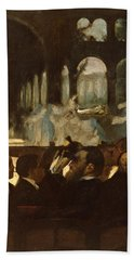 Hand Towel featuring the painting The Ballet From Robert Le Diable by Edgar Degas