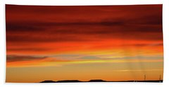 The Buttes At Sundown Hand Towel