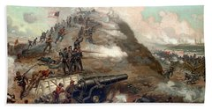 The Capture Of Fort Fisher Bath Towel