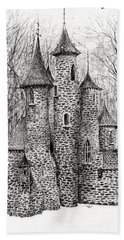 The Castle In The Forest Of Findhorn Bath Towel
