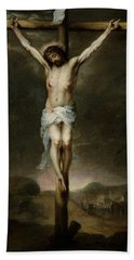 The Crucifixion Hand Towel