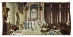 The Death Of Caesar Hand Towel