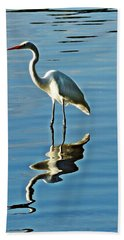 The Egret Hand Towel