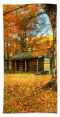 The Old Home Place Hand Towel by Darren Fisher