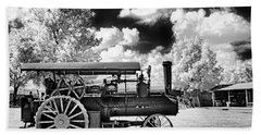 Bath Towel featuring the photograph The Old Way Of Farming by Paul W Faust - Impressions of Light