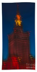 The Palace Of Culture And Science Bath Towel