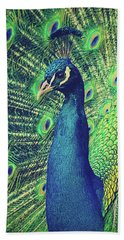 The Peacock Hand Towel
