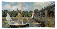The Seine At Argenteuil Hand Towel